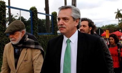 Alberto Fernández con Lula
