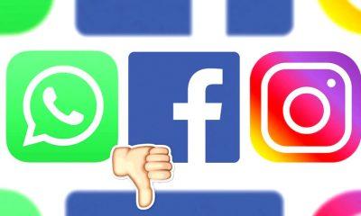WhatsApp Facebook Instagram caídos