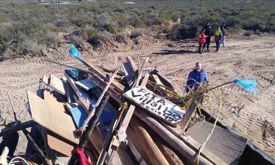 Evitaron intento de usurpación en Puerto Madryn