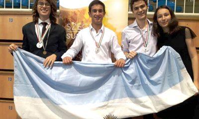 Estudiante chubutense fue premiado en Hungría