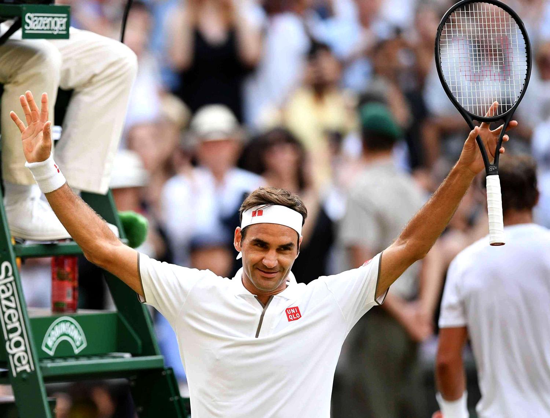 Federer finalista Wimbledon