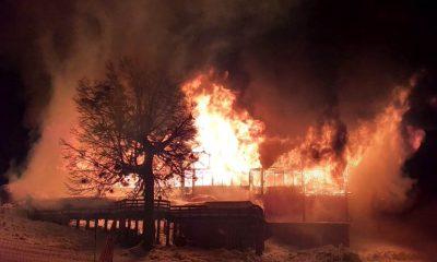 Incendio confitería Chapelco