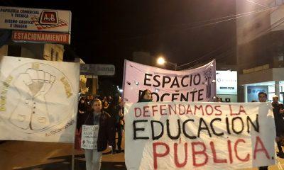 Marcha docentes autoconvocados de Trelew