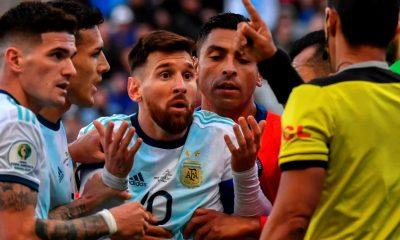 AFA defensa Messi