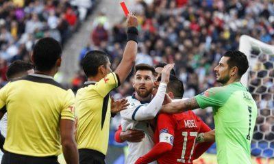 Messi suspensión Tapia sin representación