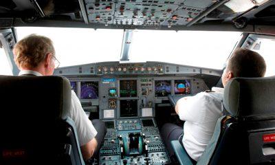 Pilotos mensajes vuelos