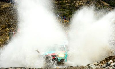 Rally Esquel Clip Snow Motion