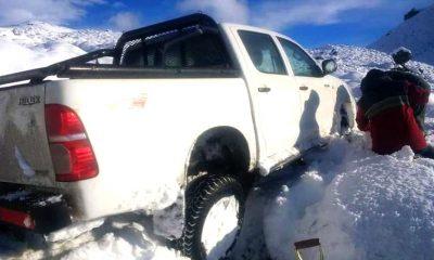 Rescate en la nieve Pilcaniyeu