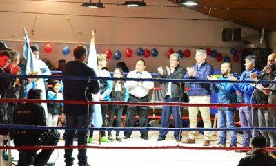Primer espectáculo de boxeo en Ricardo Rojas