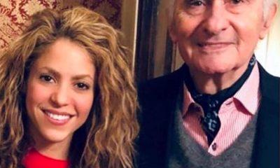 Shakira despidió a De la Rua