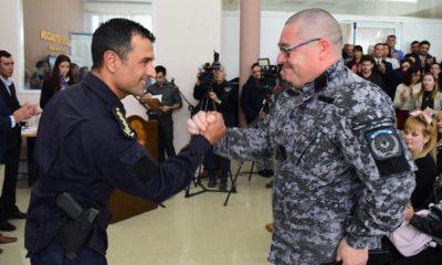 La Policía entregó distinciones a efectivos policiales