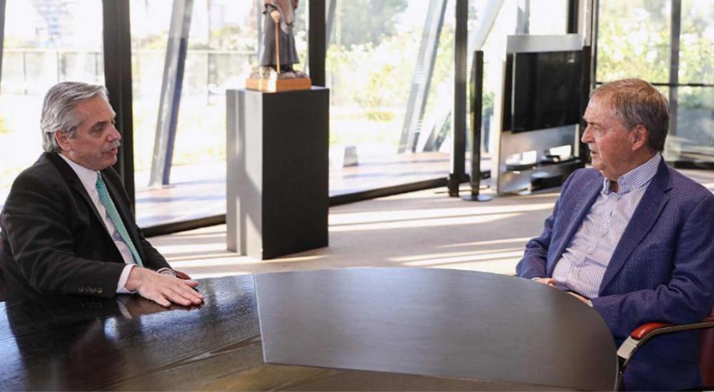 Schiaretti se reunió con Alberto Fernández