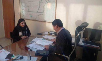 Titular de Asuntos Municipales se reunió mandataria electa de Buen Pasto