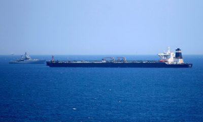 Irán advierte a Gran Bretaña por la detención del petrolero