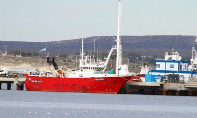 Madryn: un tripulante falleció a bordo de un pesquero