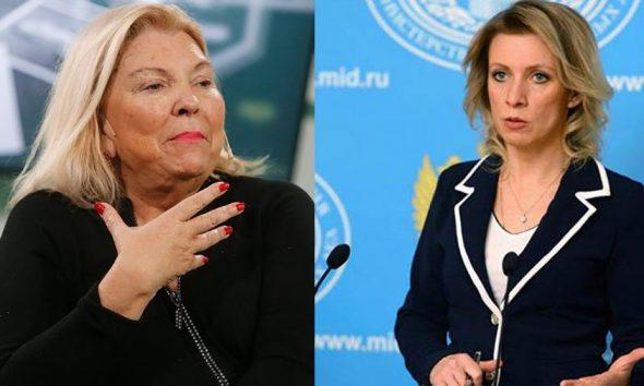 """Desde Rusia califican la acusación de Carrió como """"pasada de moda"""""""
