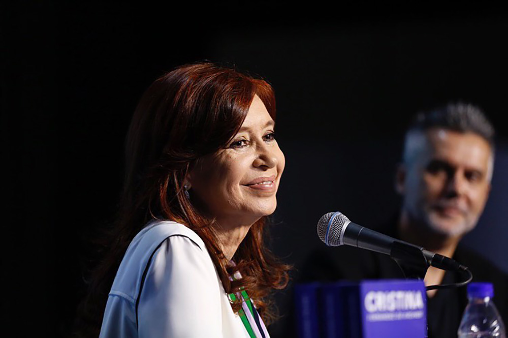 Cristina estará este sábado en Río Gallegos para presentar su libro