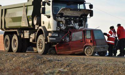Río Grande: una mujer murió en un choque frontal sobre la Ruta 3