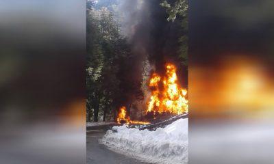 Cinco muertos por un choque entre un camión y un auto en la Ruta 40