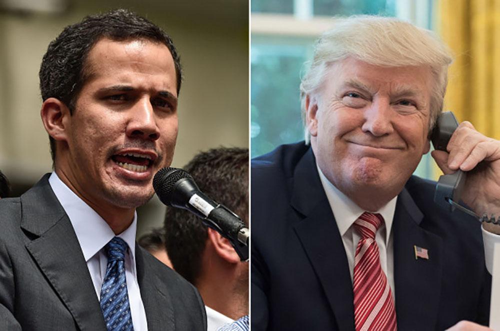 EE. UU. financiará al autoproclamado presidente de Venezuela