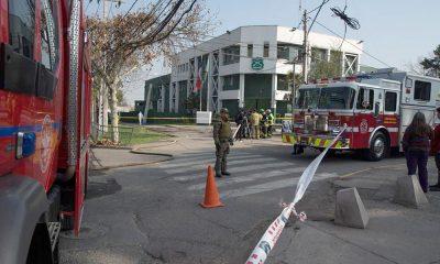 Explotó una bomba en una comisaría de Santiago