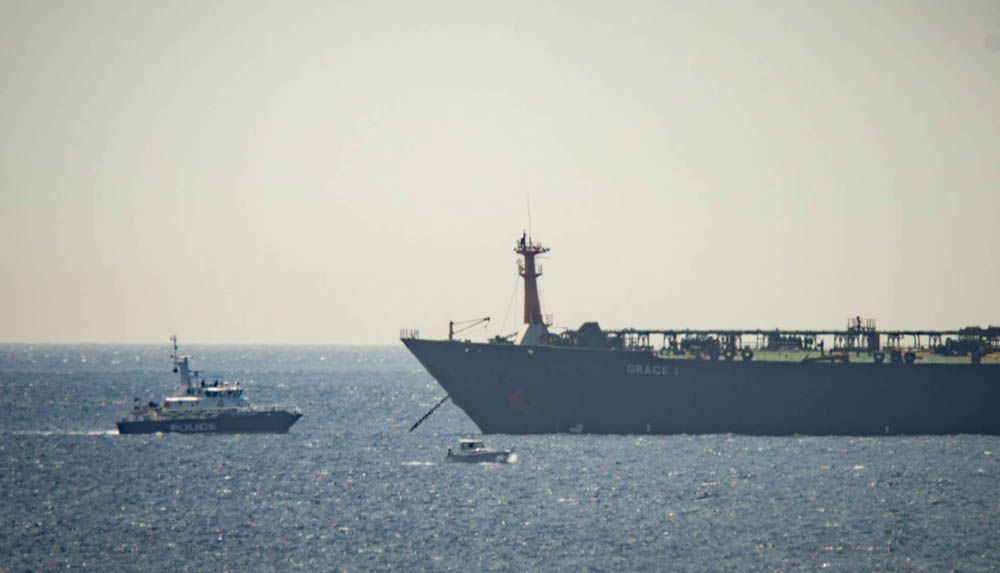 Gran Bretaña detuvo un buque petrolero iraní en Gibraltar