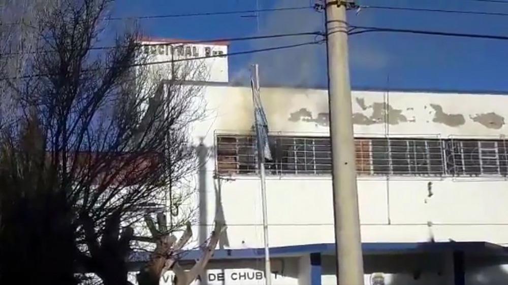 Se produjo un incendio en la Alcaidía de Comodoro