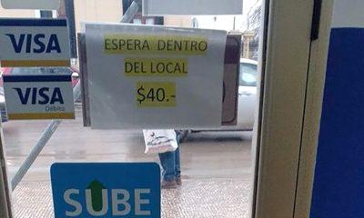 Río Gallegos: cobran $ 40 para esperar el colectivo adentro