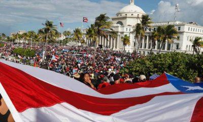 Masivas movilizaciones piden la renuncia del Gobernador de Puerto Rico