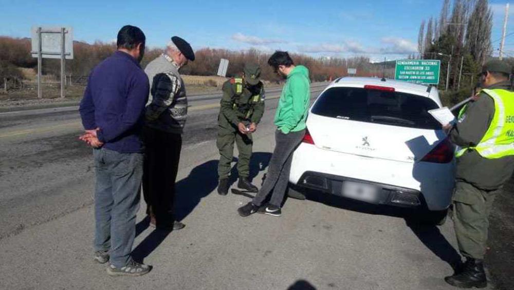 Gendarmería detuvo en Neuquén al cantante de NTVG