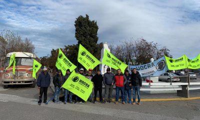 Trabajadores de UOCRA volverán a acampar en Rawson