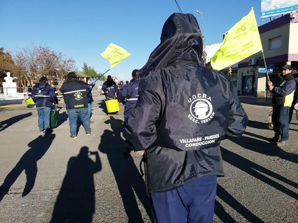 UOCRA acampará en Rawson si no se les paga a los trabajadores