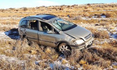 Santa Cruz: un hombre grave tras un vuelco en la Ruta 40