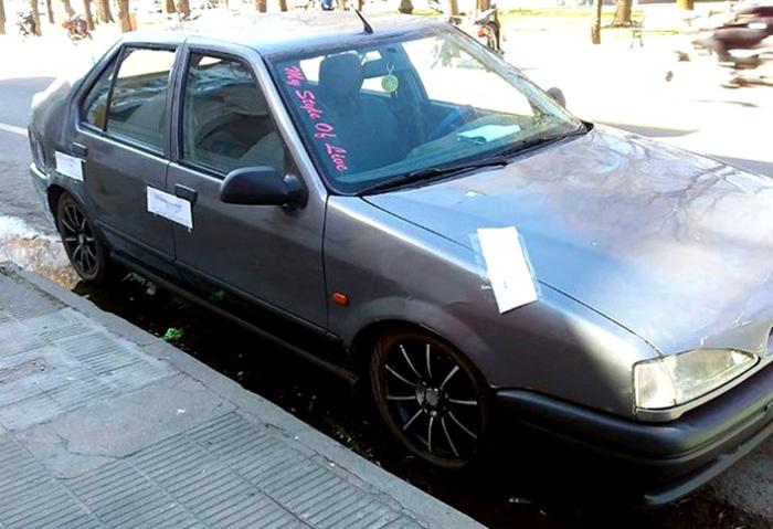 Acelerá maricón Renault 19