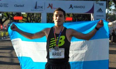 Arbe mejor argentino en Medio Maratón Buenos Aires