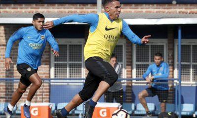 Alfaro probó un equipo con Tevez como titular