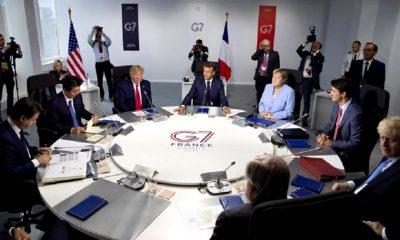 G7 incendio en el Amazonas