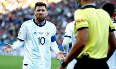 Messi sanción Conmebol