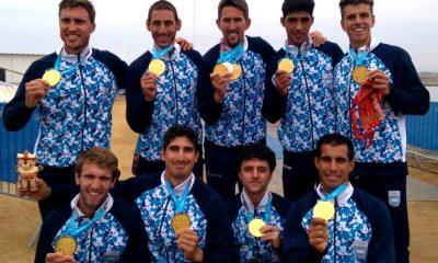 Llovieron medallas de oro