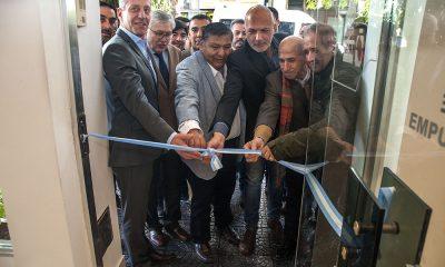 Arcioni inauguró la remodelación del hotel de Petroleros en Buenos Aires