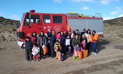 Bomberos visitaron El Escorial en el Día del Niño