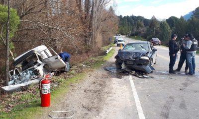 Ruta 16: un herido grave tras un choque frontal