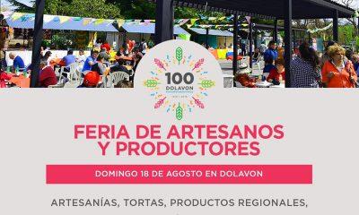 Feria de Artesanos y Productores este domingo en Dolavon