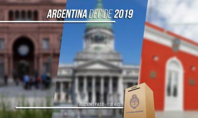 PASO: Argentina elige Presidente, Chubut 3 diputados y 14 localidades Intendente
