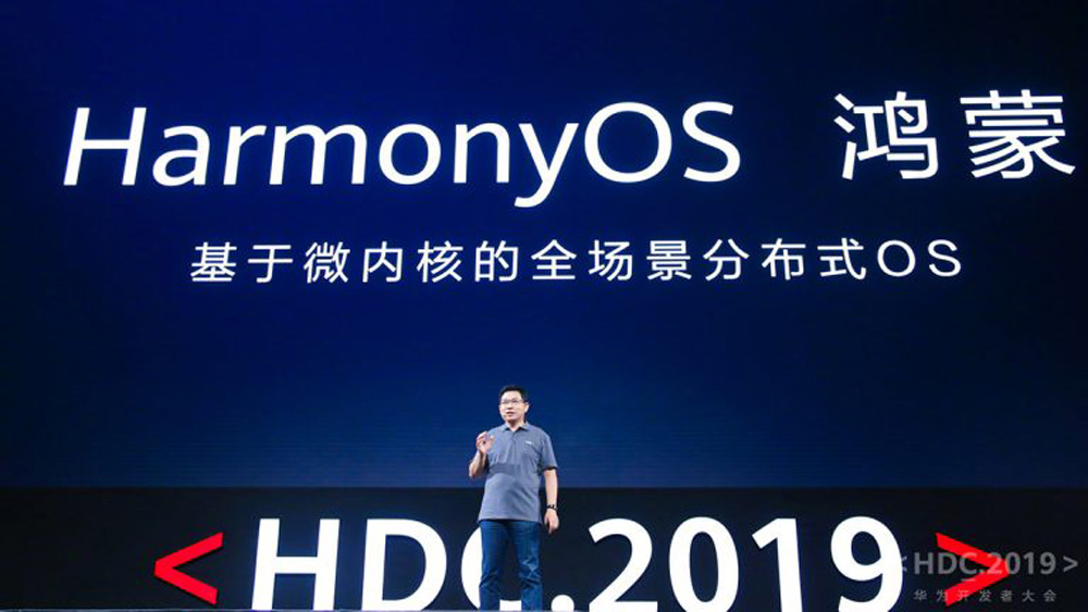 Huawei presentó su propio sistema operativo