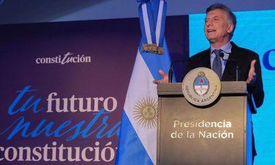 Macri encabezó acto por el 25º aniversario de la reforma constitucional