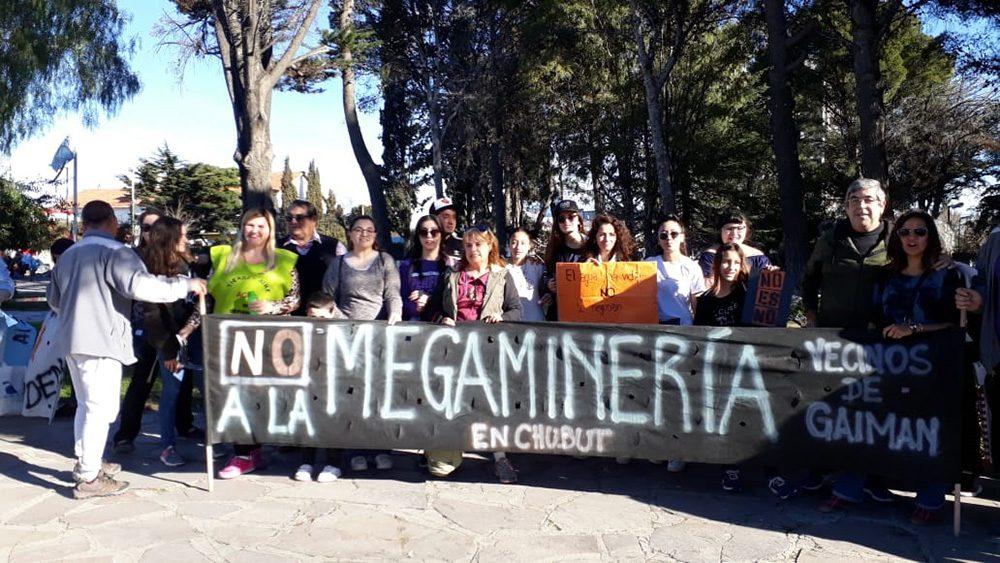Rawson: se realiza la marcha de los 4 contra la Megaminería