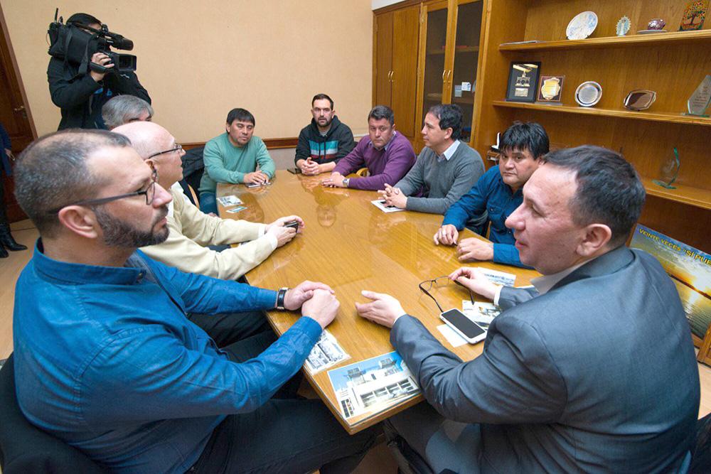 Maderna se reunió con el flamante Presidente de la Cooperativa
