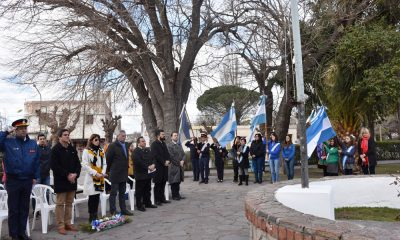 Homenaje al Libertador José de San Martín en Gaiman