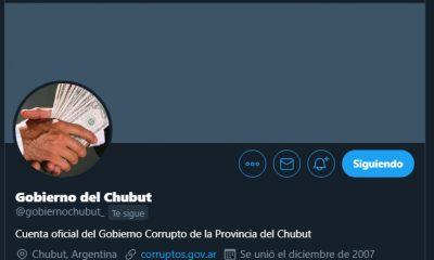 Hackearon el Twitter del Gobierno del Chubut y amenazan a Macri
